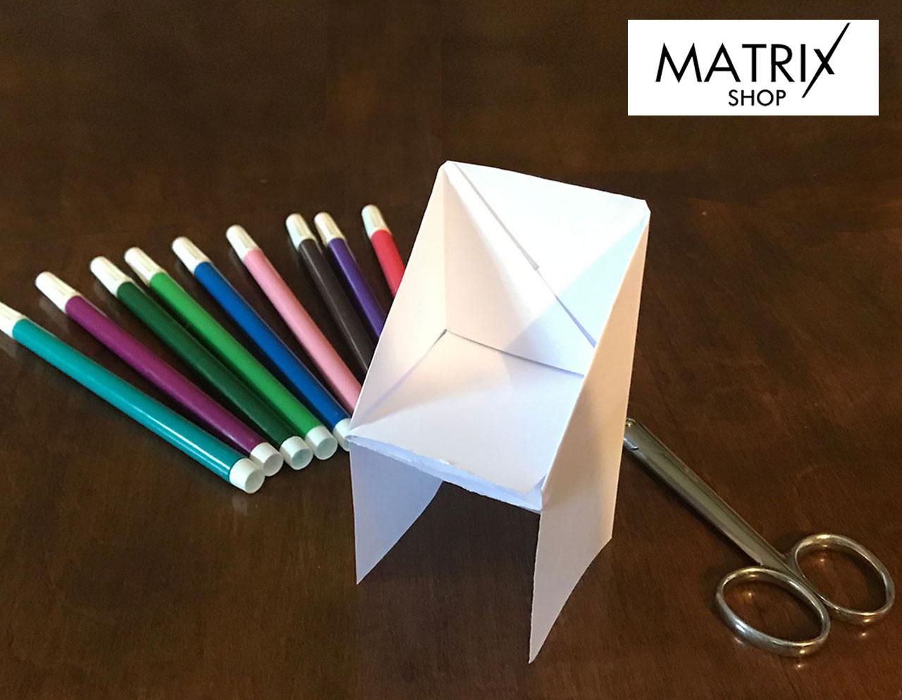 Gioca con noi - La poltroncina di carta! - Centro Commerciale Matrix Shop