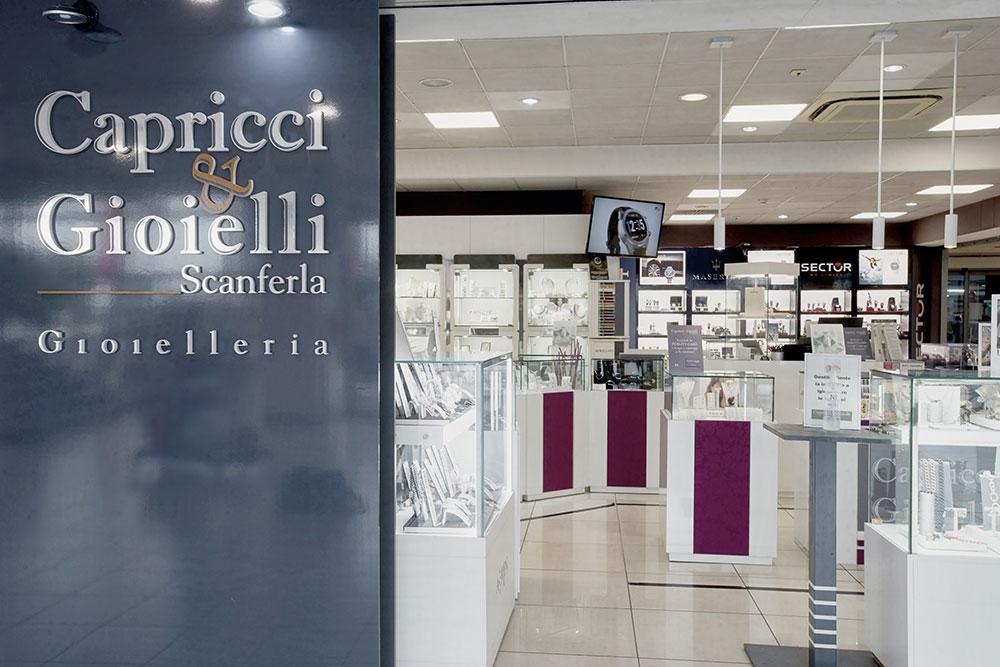 Capricci e Gioielli Scanferla al Centro Commerciale Matrix Shop